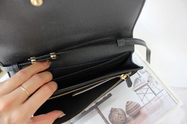 Coach Foldover Crossbody Clutch - LovelyMadness Clothing Malaysia