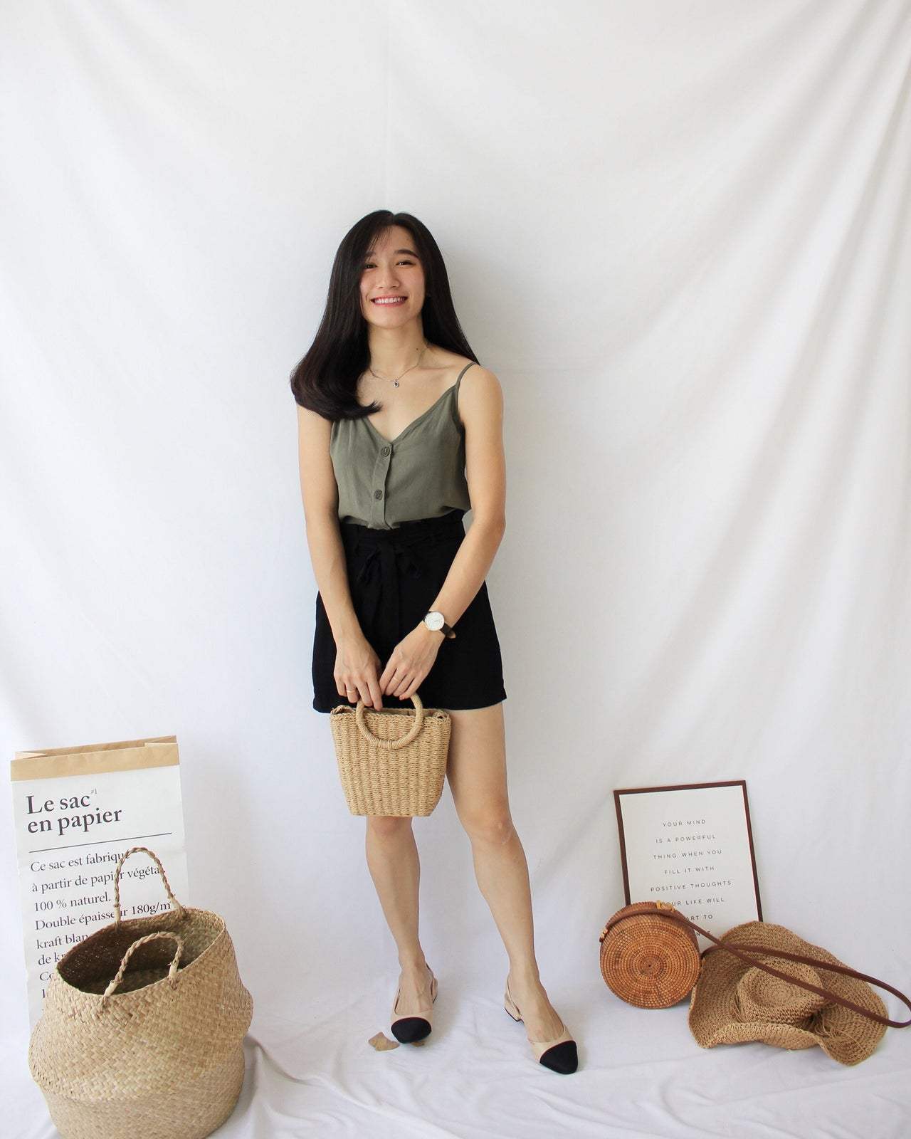 PULL & BEAR Ribbon Short - LovelyMadness Clothing Online Fashion Malaysia
