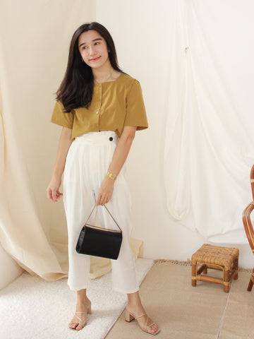 Cotton Wrap Skirt