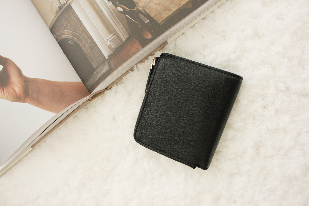 Kate Spade New York L-Zip Bifold Wallet (FULL LEATHER) - LovelyMadness Clothing Online Fashion Malaysia