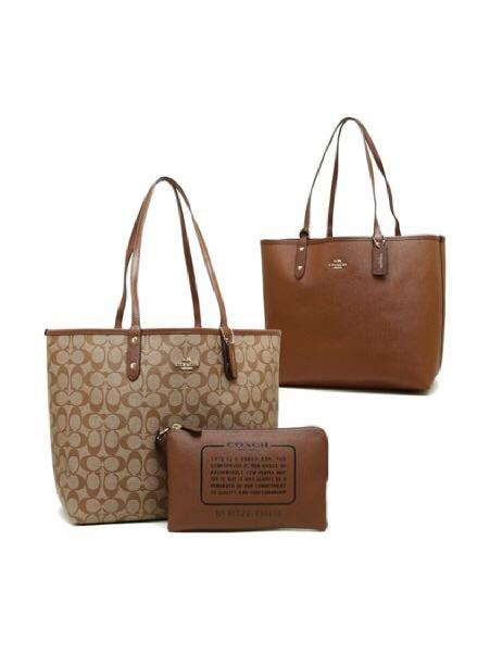 Coach Signature Reversible City Tote - Lovely Madness