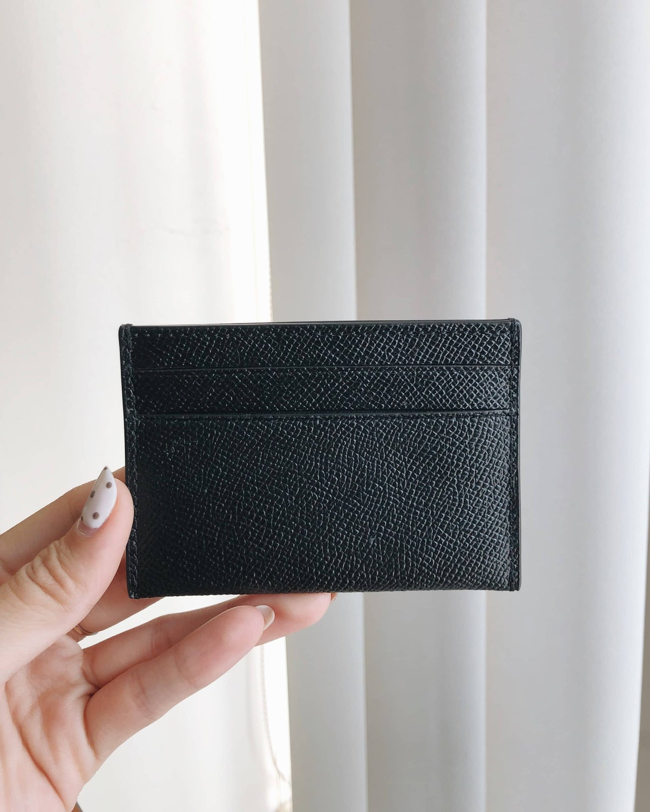 COACH CROSSGRAIN CARD CASE - LovelyMadness Clothing Malaysia