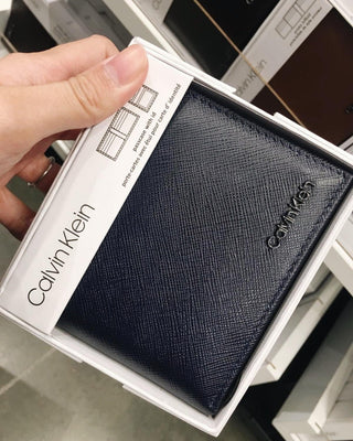 CALVIN KLEIN SAFFIANO PASS CASE - LovelyMadness Clothing Online Fashion Malaysia