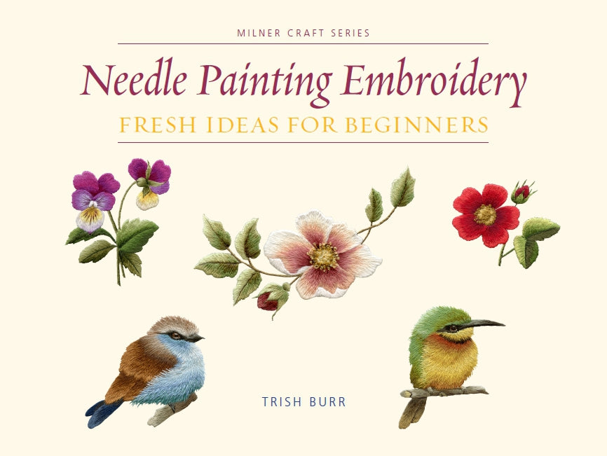 Needlepainting Embroidery for beginners