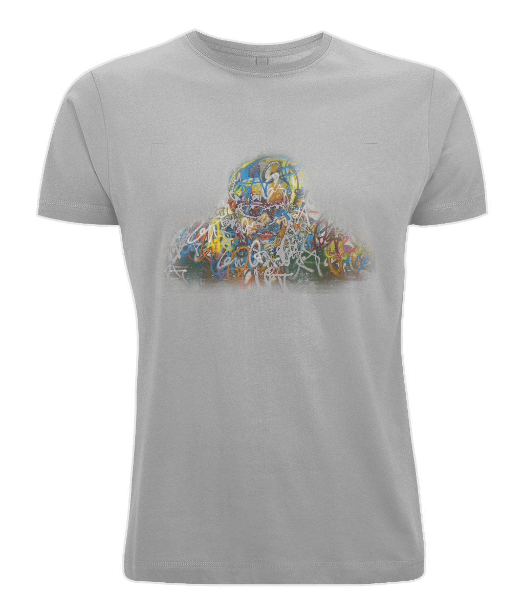 N03 Classic Cut Jersey Men's T-Shirt Graffiti MESS