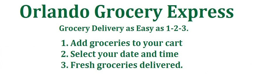 grocery delivery to Walt Disney World