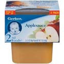 Gerber 2nd Foods Apple Sauce 2 pack
