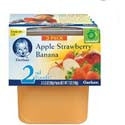 Gerber 2nd Foods Apple/Strawberry/Banana 2 pack
