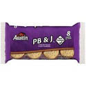 Austin PB & J Cracker Sandwiches