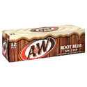 A & W Root Beer 12 pk cans