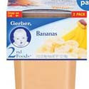 Gerber 2nd Foods Bananas 2 pack