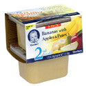 Gerber 2nd Foods Banana with Apples & Pears 2 pack