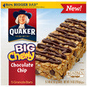 Quaker Chewy Big Chewy Chocolate Chip 6oz