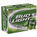 BudLight Lime 12 Pack Cans