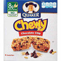 Quaker Chewy Granola Bars Chocolate Chip 6ct