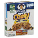 Quaker Chewy Granola Bars Variety Pack -8ct