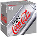 Diet Coke 24 pk cans