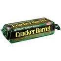 Cracker Barrel Vermont Cheddar Cheese Sharp White 10oz