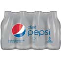 Diet Pepsi 8-12 oz Bottles