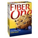 Fiber One Crunchy Chocolate Chip Cookies 6-.90oz pkgs