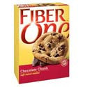 Fiber One Soft Chocolate Chunk Cookies 6-.90 oz pkg