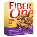 Fiber One Soft Oatmeal Raisin Cookies 6-0.90 oz pkgs