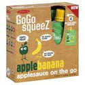 Materne GoGo Squeeze Apple Banana Applesauce on the Go 4 pk