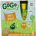 Materne GoGo Squeeze Apple Mango Applesauce on the Go 4pk
