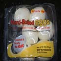 Hard Boiled Eggs 6 count