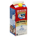 Horizon Organic Milk 0% with DHA Omega-3 1/2 gal
