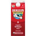 Horizon Organic Whole Milk 1/2 gal