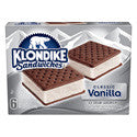 Klondike Ice Cream Sandwiches 6ct