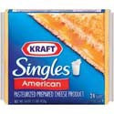 Kraft Cheese American Yellow Singles 24ct