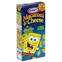 Kraft Macaroni & Cheese Sponge Bob Square Pants 5oz