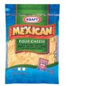 Kraft Mexican 4 Cheese Shredded 8oz