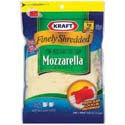 Kraft Mozzarella Shredded 7oz