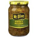 Mt Olive Sweet Relish 16oz