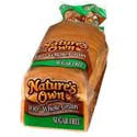 Nature's Own Bread 100% Whole Wheat-SUGAR FREE