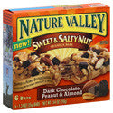 Nature Valley Sweet & Salty Nut Granola Bars-Dark Chocolate, Peanut, & Almond