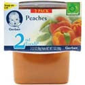 Gerber 2nd Foods Peaches 2 pack
