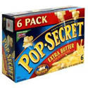 Pop Secret Extra Butter Microwave Popcorn 6ct