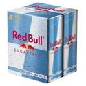 Red Bull Energy Drink Sugar Free 4ct 8oz