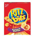 Nabisco Ritz Bits Sandwiches with Peanut Butter