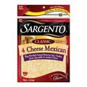 Sargento Mexican 4 Cheese 8oz