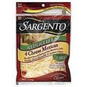 Sargento 4 Cheese Mexican Reduced Fat Shredded 8oz