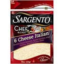 Sargento Italian 6 Cheese Shredded 8oz