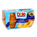 Dole Fruit Cups Peaches