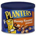 Planters Peanuts Honey Roasted 12oz