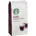Starbucks Coffee Espresso Dark Roast 12oz bag