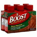Boost High Protein Nutritional Drink Chocolate 6 pack 8oz can